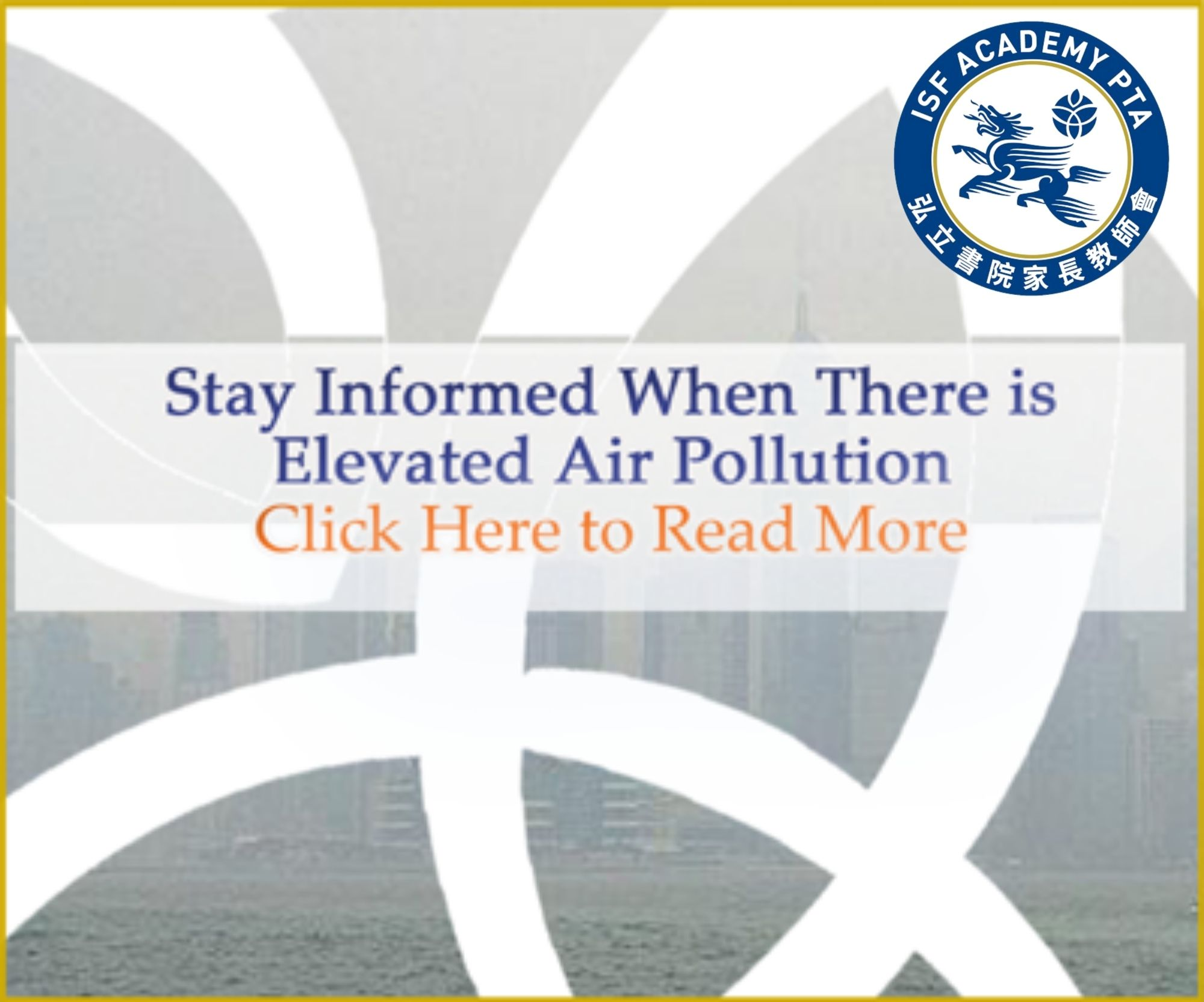 Stay Informed When There is Elevated Air Pollution